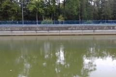 Letošní sucha poznamenala hladinu na Továrenské nádrži