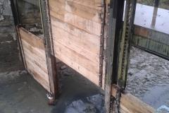 Oprava stavidla - Továrenské rybníky